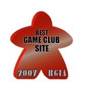 Board Game Internet Awards Winner 2007